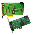 ARINC PCI Express One and 4 Lane Interface Cards